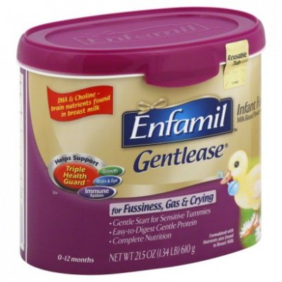 Gentlease, Infant Formula Powder, Milk-Based With Iron