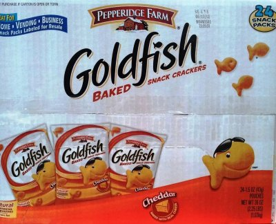 Goldfish, Baked Snack Crackers