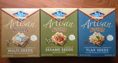Artisan Nut Thins Flax Seeds Crackers