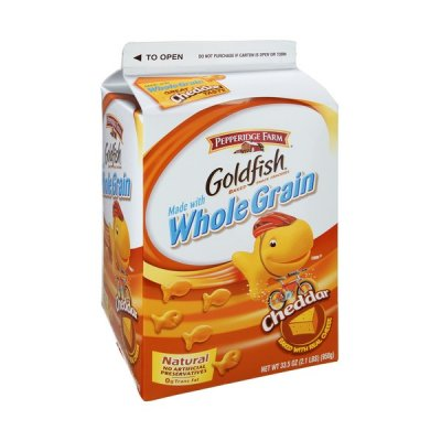 Goldfish - Cheddar, made with Whole Grain
