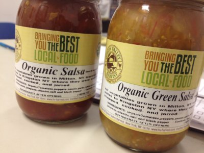 Organic Original Salsa, Made With Jalapeno Peppers, Onions & Garlic