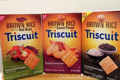 Roasted Garlic Triscuit Crackers