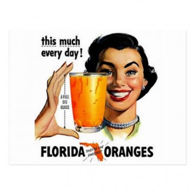 100% Florida Orange Juice
