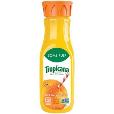 100% Orange Juice, Some Pulp, Premium