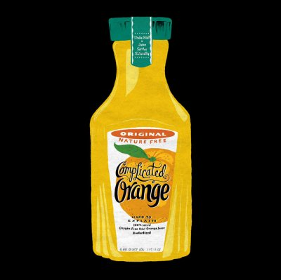 100% Pure Florida Orange Juice