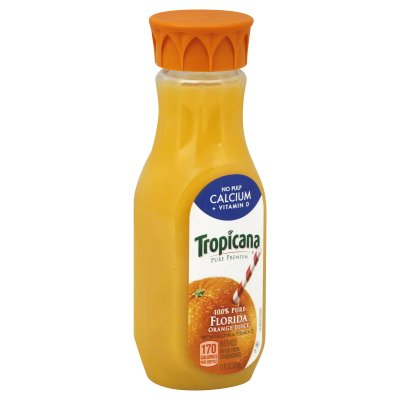 100% Pure Florida Pasteurized Orange Juice