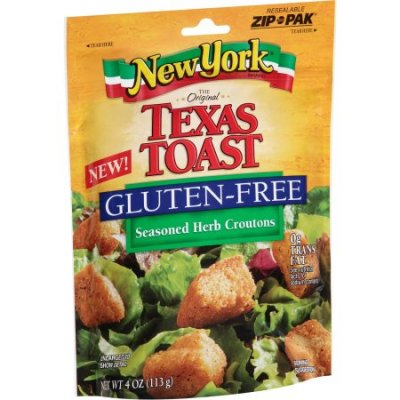 The Original Texas Toast, Gluten Free Seasoned Herb Croutons