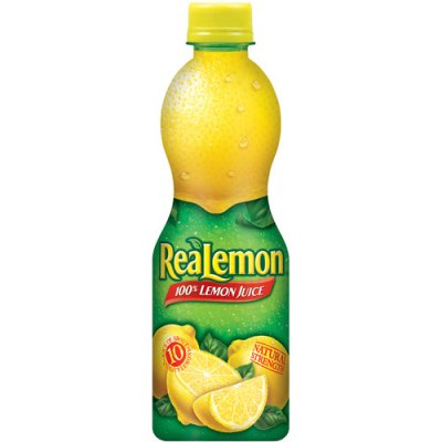Lemon Juice, 100% from Concentrate Natural Strength 48 Oz