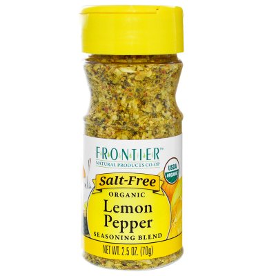 Seasoning, Lemon & Pepper