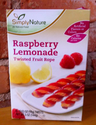 Twisted Fruit Ropes Raspberry Lemonade Naturally Flavored
