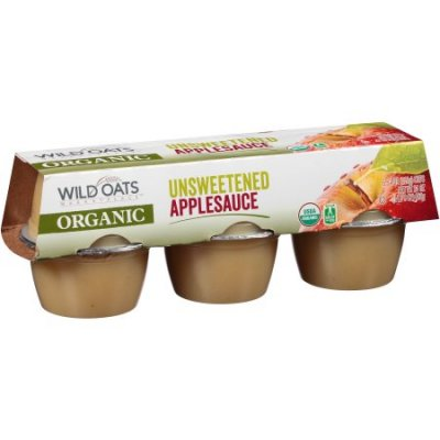 Village Applesauce, Organic, Unsweetened Applesauce