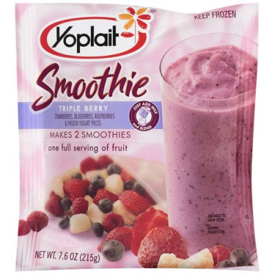 Yoplait Smoothie - Triple Berry