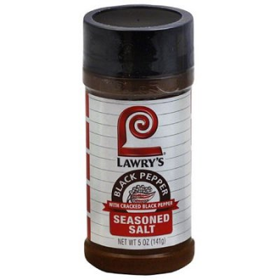 Lawry'S Seasoned Salt,W/Cracked Black Pepper
