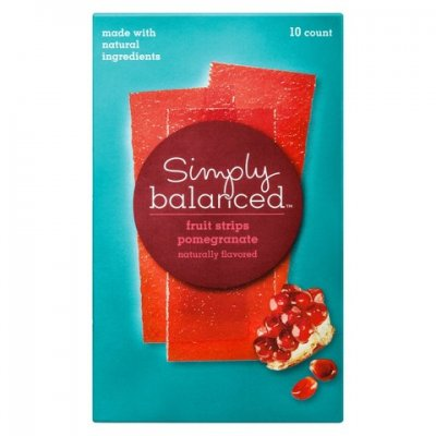 Pomegranate Fruit Strips