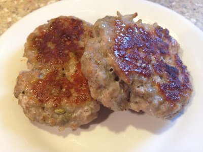Chicken & Maple Breakfast Sausage Patties