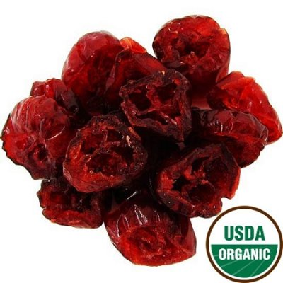 Cranberries, Dried & Unsulfured, Organic