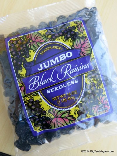 Jumbo Black Raisins Seedless