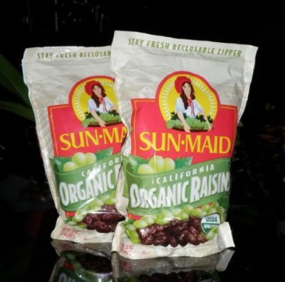 Raisins, Sun-Dried, California