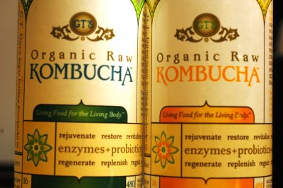 Organic Raw Kombucha Fermented Tea