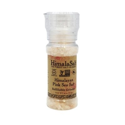 Primordial Himalayan Sea Salt Grinder, Refillable