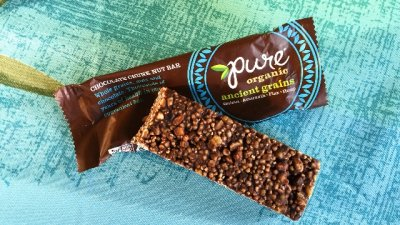 Ancient Grains, Peanut Butter Chocolate Bar