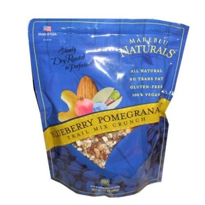 Blueberry Pomegranate Trail Mix Crunch