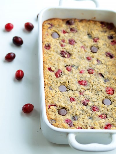 Oat Cranberry Almond Bar
