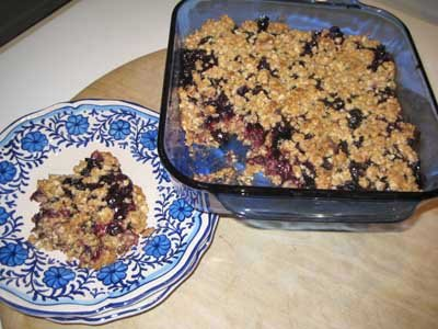 Blueberry, Pomegranate Trail Mix Crunch Bars With Whole Grain Brown Rice