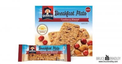 Breakfast Flats, Cranberry Almond, Breakfast Bars