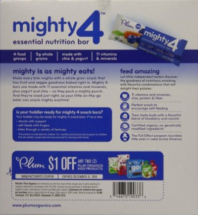 Mighty 4 Essential Nutrition Bar