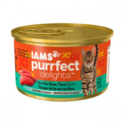 Cat Food, Chicken & Tuna Dinner