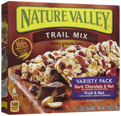 Chewy Granola Bars, Trail Mix, Dark Chocolate Cranberry