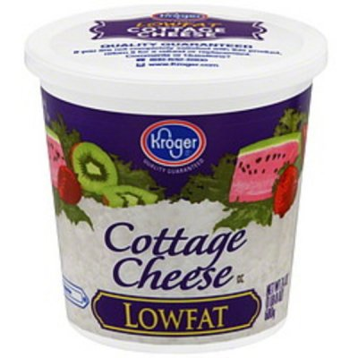 Cottage Cheese, Low Fat, Small Curd