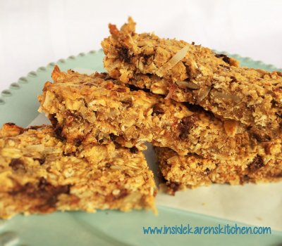 Granola Bars, Chewy, Harvest Berry,  Organic