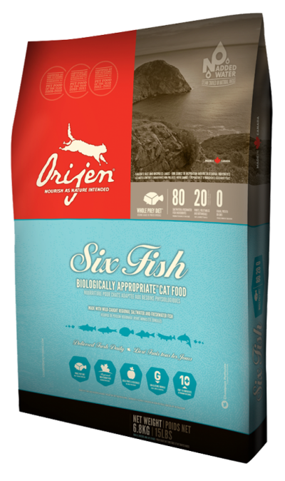 Six Fish Biologically Appropriate Cat Food