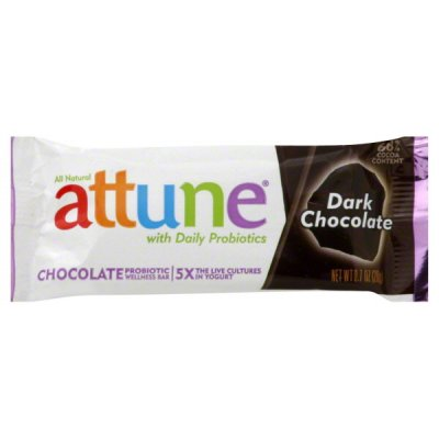 Chocolate Probiotic Wellness Bar, Dark Chocolate