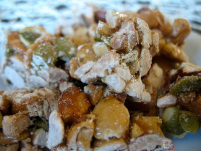 Cashew Clusters with Almonds and Pumpkin Seeds