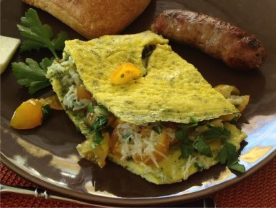 Omelette Add-in, Spinach
