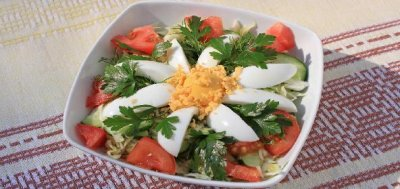 Chef Salad without Dressing, Medium (2 Servings)