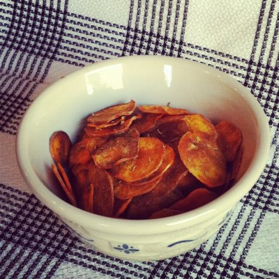 Sea Salted Sweet Potato Chips