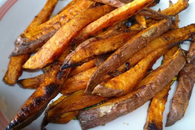 Sweet Potato Chips Made With Nutrient Dense Coconut Oil