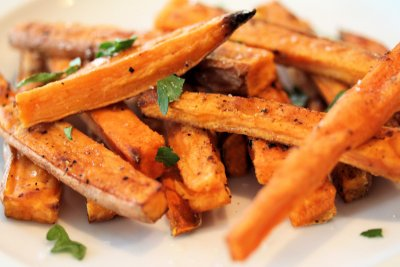 Sweet Potato Chips,Crispy Sea Salt