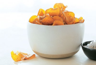 Sweet Potatoes With Sea Salt, Chips