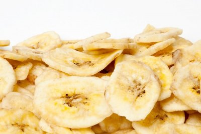 Banana Chips, Dried Fruit
