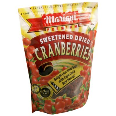 Cranberries, Sweetened, Dried