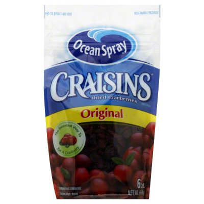 Cranberries, Sweetened Dried, Original