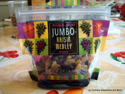 Jumbo Raisin Medley
