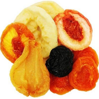 Mixed Fruit, Dried Plums, Apricots, Pears, Peaches & Apples