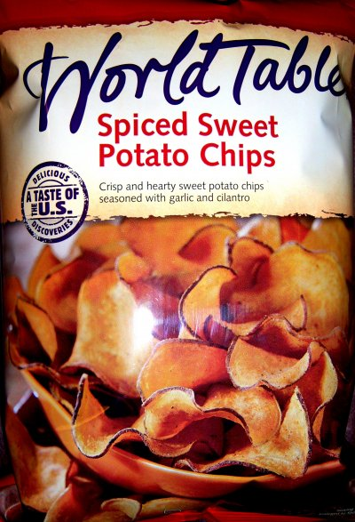 Chips, Spiced Sweet Potato