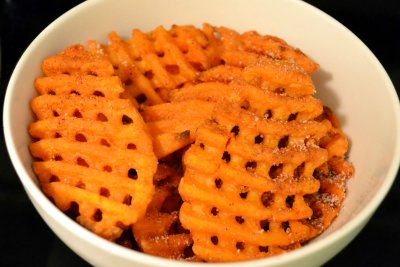 Potato Chips, Kettle Cooked Waffle Cut Sea Salt